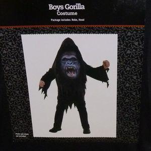 Boys Child GORILLA Costume Med Large NWT